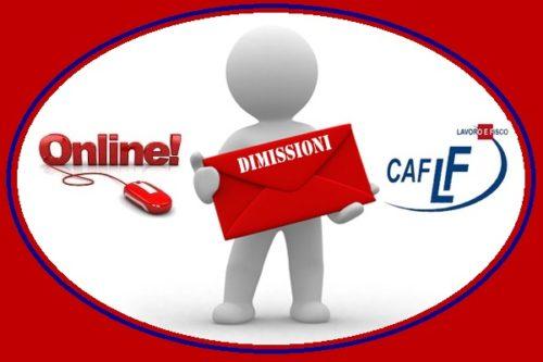 Servizi CAF - Dimissioni volontarie online