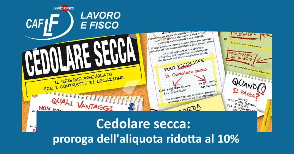 Amazing Cedolare Secca: Proroga Dellu0027aliquota Ridotta Al 10%
