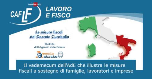 DECRETO-LEGGE «CURA ITALIA»